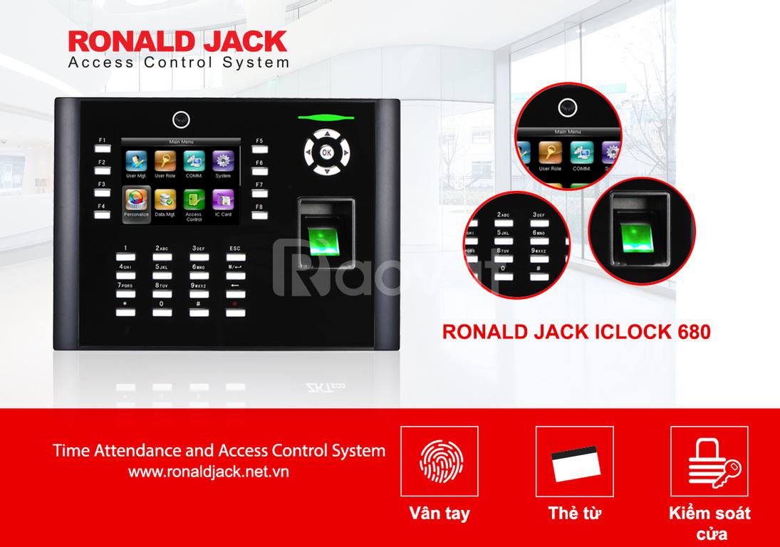 Giải pháp quản lý chấm công bằng dấu vân tay IClock680
