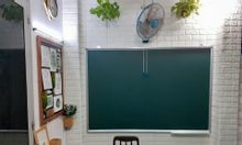 Bảng từ viết phấn Hàn Quốc 80x120cm