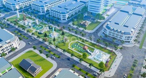 Bán lô góc DT 142m2 view công viên kỳ quan thuận tiện kinh doanh