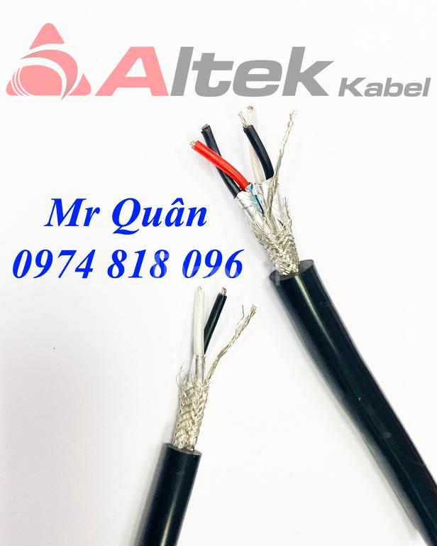 Cáp RS485 cáp tín hiệu 2 lớp chống nhiễu