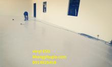 Thi công sàn Vinyl ESD chống tĩnh điện nhà xưởng