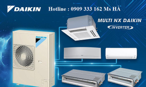 Điều hòa không khí Multi Daikin chỉ cần một dàn nóng