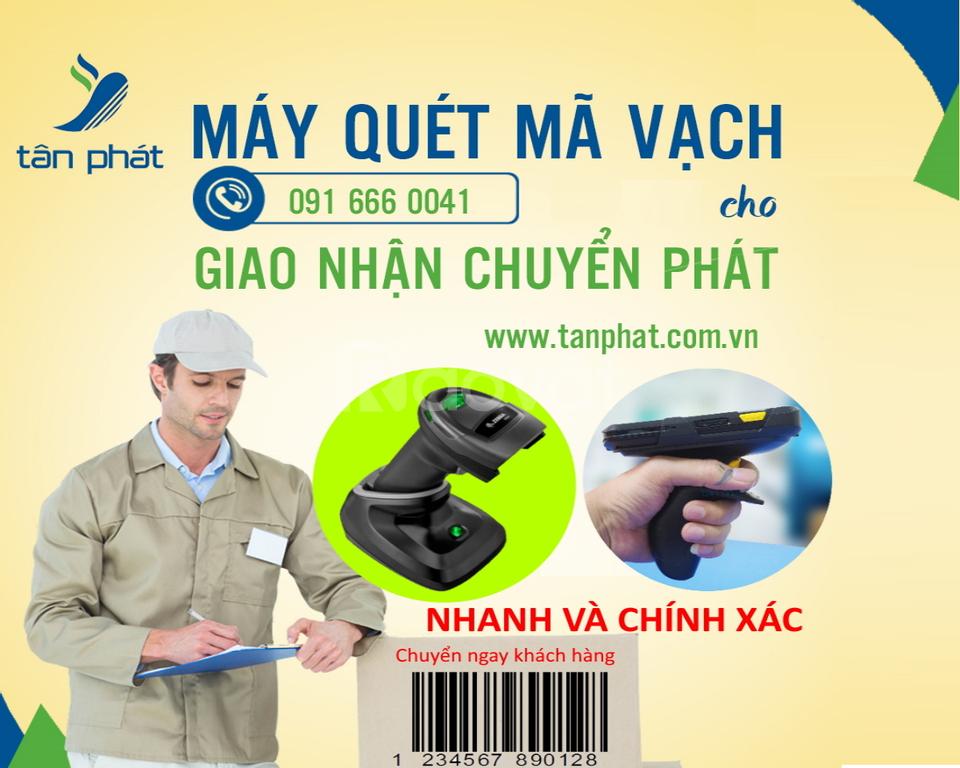 Tân Phát cung cấp máy quét mã vạch cho bưu cục, chuyển phát nhanh