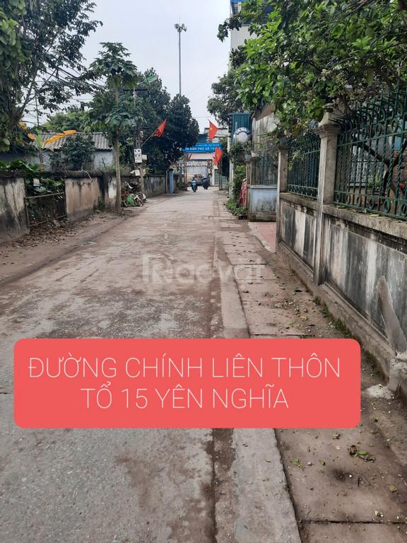 Chính chủ bán đất tổ 15 Yên Nghĩa, Hà Đông