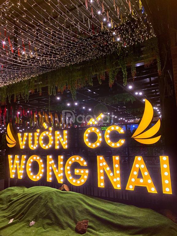 Hải sản Phan Thiết, vườn ốc Wong Nai