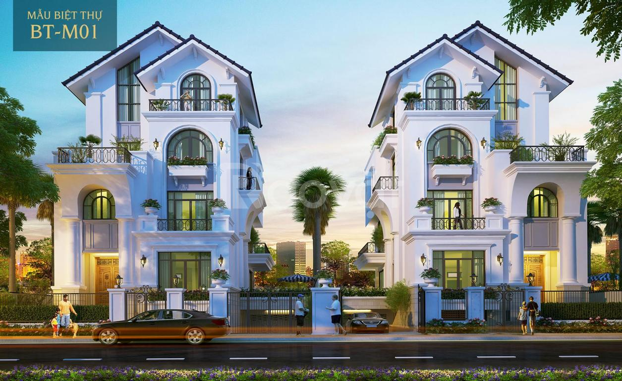 Đất nền biệt thự dự án Hưng Thịnh quận 2 Saigon Mystery Villas