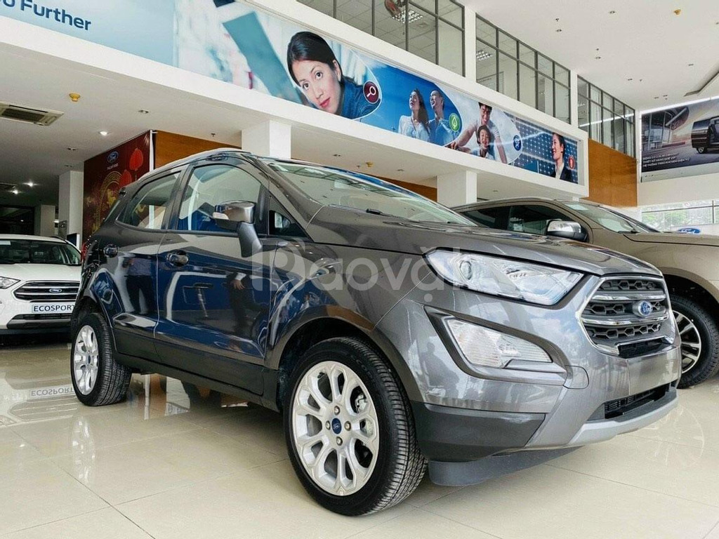 Ford Ecosport giảm hơn 40 triệu, đủ màu, trả trước 200 triệu nhận ngay