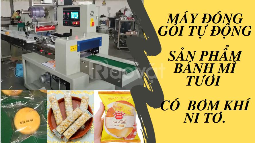 Máy đóng gói tự động cho bánh mì