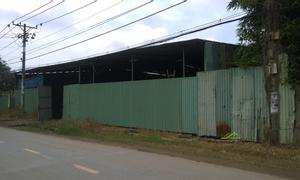 Cho thuê nhà xưởng A13/2 Mai Bá Hương, Lê Minh Xuân, Bình Chánh