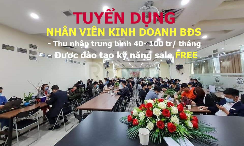 Nhân viên kinh doanh BĐS thổ cư Hà Nội