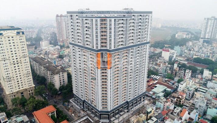 Căn hộ Nguyễn Kim Khu B cao 30 tầng trung tâm Q.10 mới bàn giao nhà