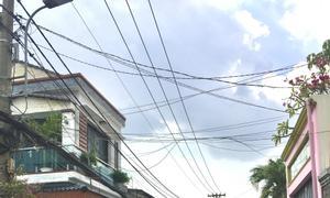 Cho thuê nhà mới 1 trệt 2 lầu, DT sàn 65m2