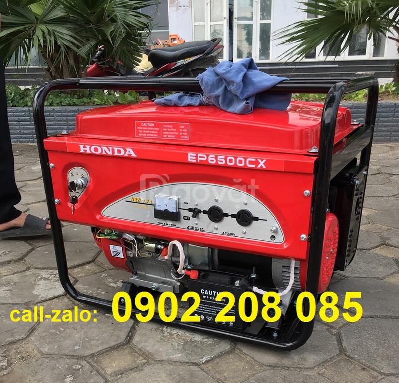 Bán máy phát điện Honda ep6500cx 5.5kva đề nổ giá rẻ