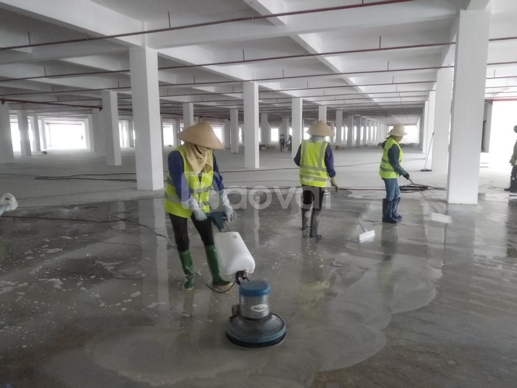 Đánh sàn và phủ bóng các loại sàn ở Hà Nội