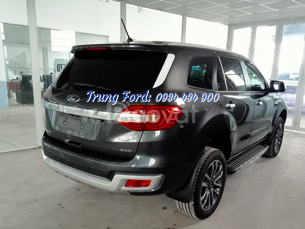 Ford Everest Titanium 2.0L AT 4WD, xe 7 chỗ 2 cầu, Long An Ford
