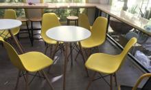 Bộ bàn ghế Eames nhiều màu giá rẻ