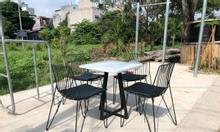Bộ bàn ghế sắt cafe Bảo Long