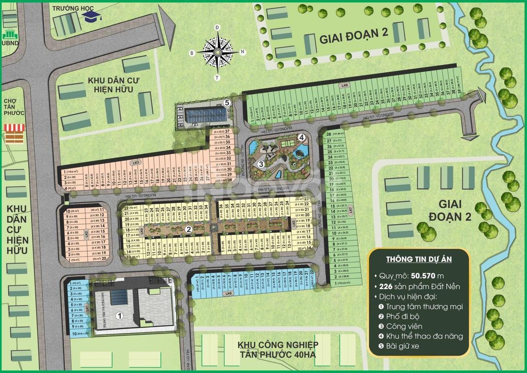 Dự án Prime City tại ĐỒng Phú, Bình Phước