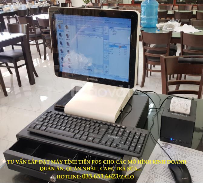 Bán máy tính tiền cho quán trà sữa tại Biên Hòa, Đồng Nai