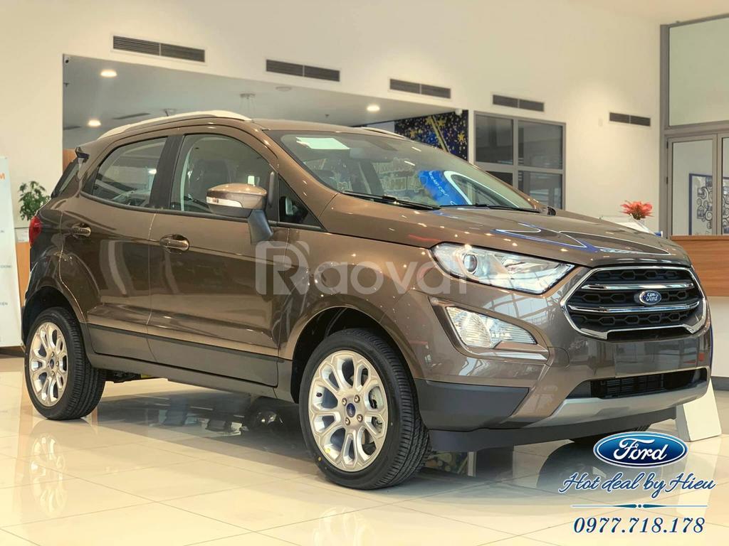 Ford EcoSport 2021 ưu đãi giảm lô hàng quý 1