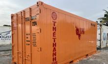 Container lạnh 20feet tân trang mới