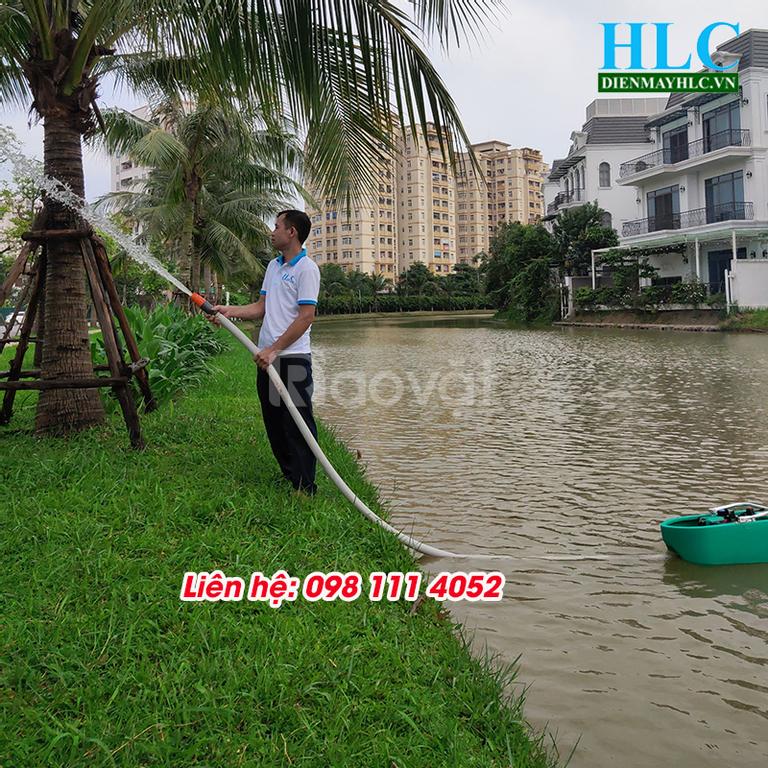 Báo giá máy bơm thuyền đa năng phun xòe tưới rau phun xa 25m