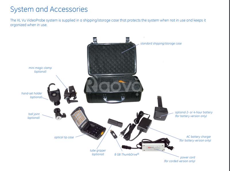 Videoscope đa năng, cung cấp cho bạn khả năng truy cập hoàn hảo