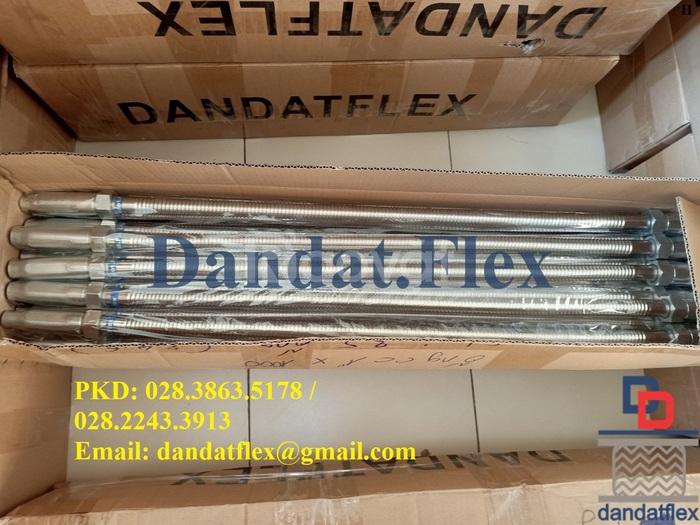 Ống mềm inox chữa cháy, ống mềm nối đầu phun Sprinkler Dandat.Flex