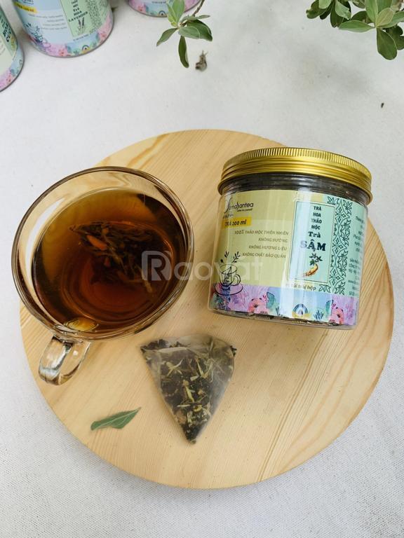 Trà sâm dây Ngọc Linh Yamasantea trà hoa thảo mộc Công nghệ Nhật