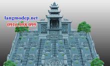 Mẫu thiết kế khu lăng mộ dòng tộc đẹp