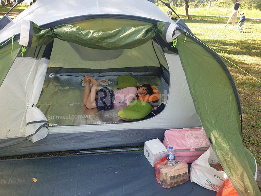 Lều picnic tự bung 2 phòng cho gia đình 4-6 người