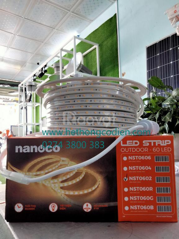 Đèn led dây ngoài trời IP65 Nanoco NST0602