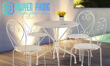 Bàn ghế nội thất cho phòng ăn đơn giản, bàn ghế sân vườn cổ điển