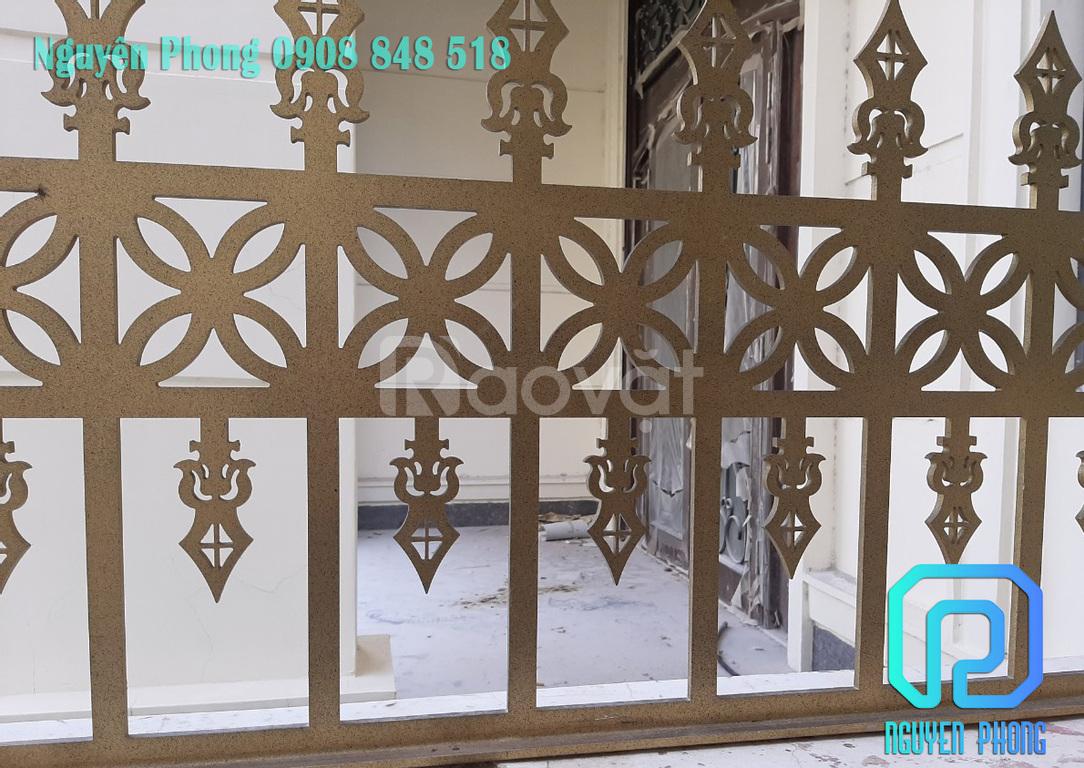 Dich vụ thi công xây lắp hàng rào cửa cổng uy tín, chất lượng tại HCM