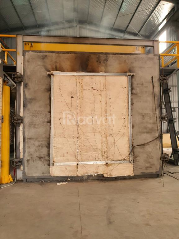 Rèm cuối vải ngăn cháy ngăn khói Ei60 Anko Việt Nam