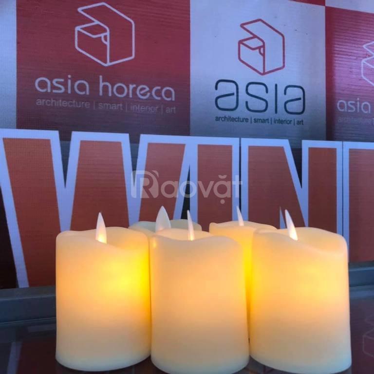 Asia Horeca cho thuê nến điện tử, đèn, nến trang trí tại Đà Nẵng