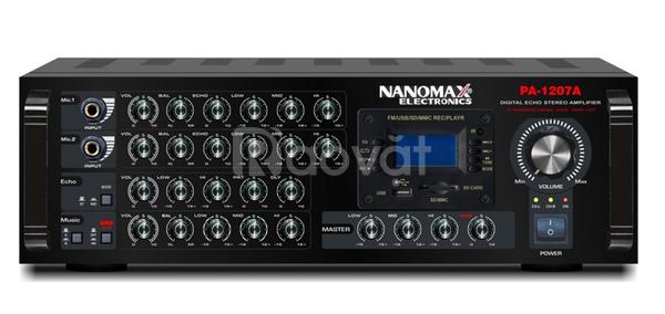 Amply karaoke Nanomax PA-1207A