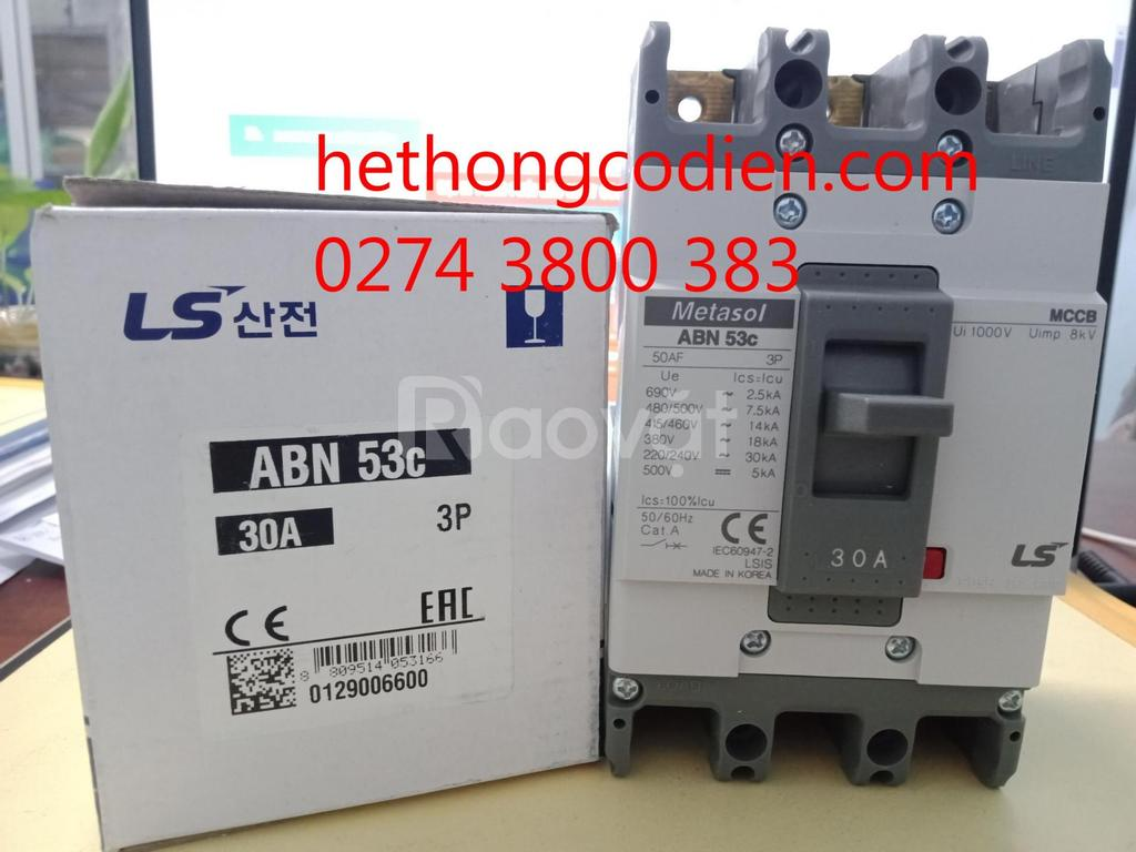 Aptomat MCCB ABN53c 3P 30A LS