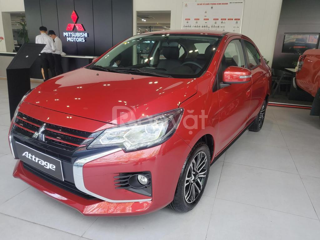 Mitsubishi Attrage giá tốt trong tháng 4