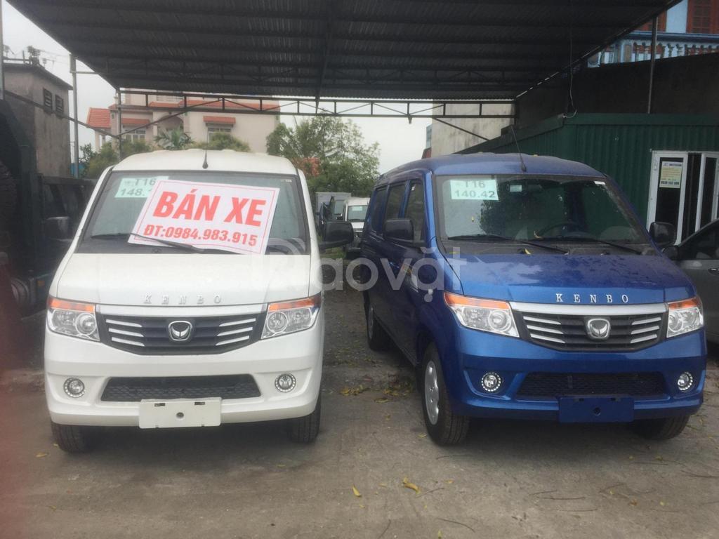 Hải Dương bán xe kenbo van 2 chỗ 945kg giá tốt cho người tiêu dùng