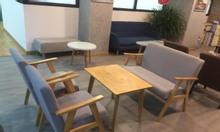 Thanh lý bộ bàn ghế sofa cafe HCM