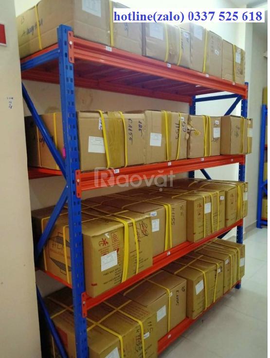 Kệ trung tải để hàng nặng, tải trọng từ 200kg trở lên 1 tầng, hàng mới