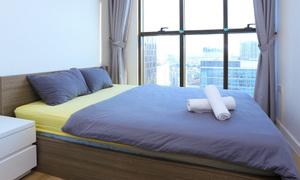 Ga drap giường lẻ 100% cotton, mới, đẹp, có 2 màu