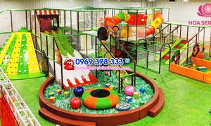 Chi phí đầu tư khu vui chơi trẻ em trong nhà
