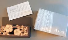 Hộp đựng name card bằng gỗ sang trọng, còn nguyên hộp