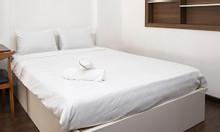 Thanh lý giường gỗ 1m6 màu trắng, kiểu hiện đại