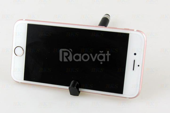 Bút bi in mã quét QR tích hợp giá để điện thoại tiện lợi
