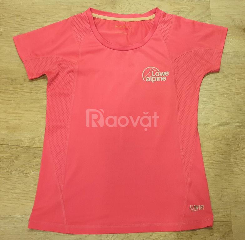 Áo thun, áo crop top tập gym yoga thể thao Puma, Giordano,…