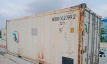 Container lạnh chứa hàng hóa đông lạnh