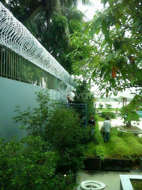 Hàng rào kẽm Gai Lam giá rẻ